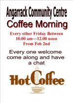 Angarrack Community Coffee Morning alternative Fridays 10-12